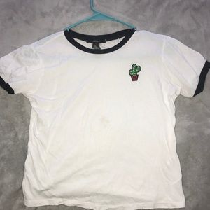 Cactus patch cropped tee!